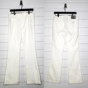"7 For All Mankind White ""A"" Pocket Jeans Size 28"